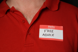Hello, My Name is Free Advice